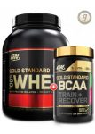 5LB - Optimum Nutrition Gold Standard 100% Whey + ON Gold BCAA - <span> $52</Span> w/Coupon