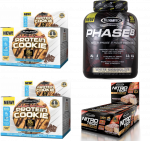 4.4LB PHASE 8 + 2 Boxes of Protein Cookies + NitroTech Bars (12pk) - <span>$56 Shipped!</span>