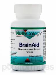 NutriCology's BrainAid (60 tabs) for $13.58