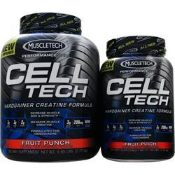 MUSCLETECH Cell Tech Creatine - Buy 6lb. get 3lb. Free For $45.89! Save $25.