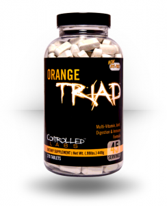 Controlled Labs Orange Triad, Vitamins 270 tablets For $28.99 Free Shipping