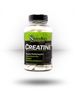 Nutrakey: Creatine Monohydrate, 100 Capsules For $8.99