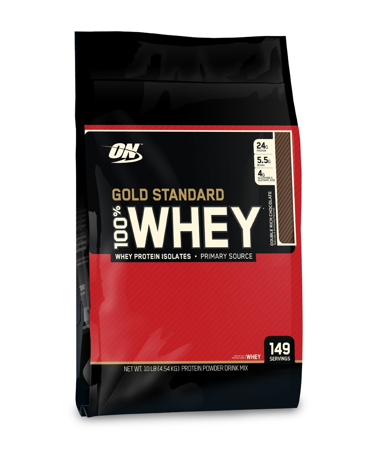 Optimum Nutrition 100% Whey Gold Standard (10lb) $103.99