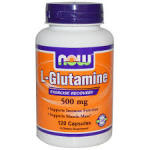 Now Food L-Glutamine (120 Caps) $7 Shipped W/Coupon