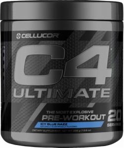 Cellucor C4 Ultimate - Strongest pre workout