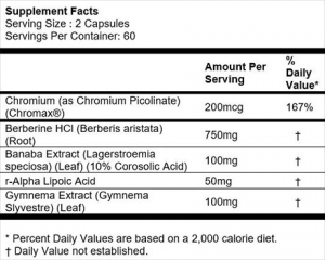 MTS Nutrient Driver Supplement Facts