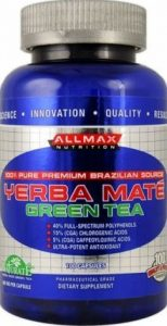 AllMax Nutrition : Yerba Mate-Green Tea