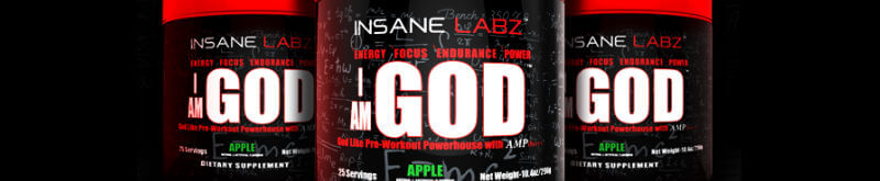 insane labz i am god review