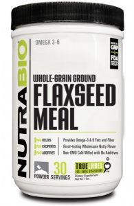 NutraBio : Flaxseed Meal