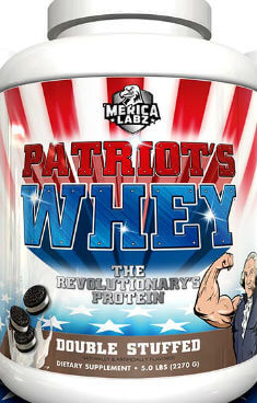 Merica Labz Patriot's Whey