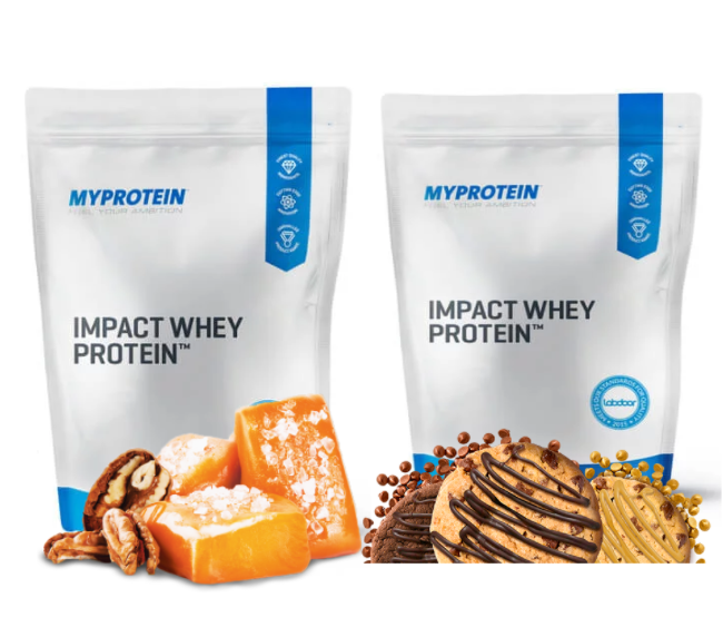 Impact whey protein image flavors