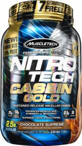 MuscleTech : Nitro Tech Casein Gold