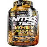4LB MuscleTech Nitro-Tech Whey Plus Isolate Gold - <span>$41.99 </span>