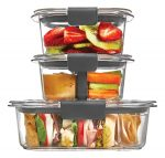 10pc Rubbermaid Brilliance Food Containers  - <span> $12.5 Shipped</span>