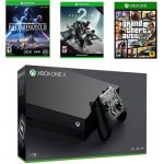 Xbox One X Console W/ Three Game Bundle - <span> $499 Shipped </span>