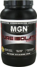 Muscle Gauge Nutrition : Pure Isolate Whey Protein