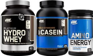 Optimum Nutrition : Total Protein Stack