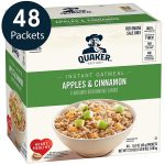48/pk Quaker Instant Oatmeal - <Span>$7.64 </span>w/Amazon Coupon