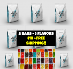 5 bags of MYPROTEIN IMPACT WHEY - <Span>$17.99 Shipped!</Span> (mix 5 Different Flavors!)