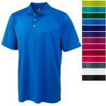 Russell Athletics DRI-POWER Golf Polo -  <span> $9.99 Shipped</span>