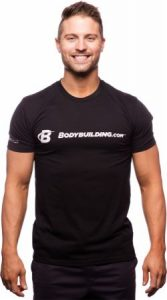 Bodybuilding.com : Classic Fitted Logo T-Shirt