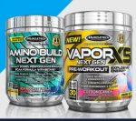 VAPOR X5 & Amino Build - <span> $14.99 </span> (Plus FREE Bars)