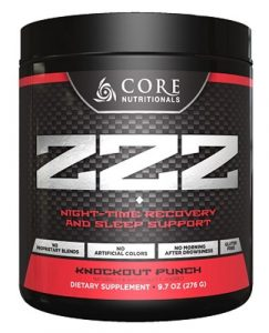 Core Nutritionals : Core ZZZ
