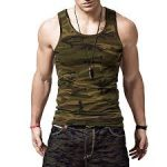XShing Cotton Gym Camo Tank - <span> $13.99 Shipped </span>