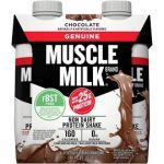 12/pk Muscle Milk Genuine Protein Shake - <span> $9 Shipped </span>