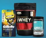 50% OFF Optimum Nutrition  - <span>w/ Gillete Purchase</span>