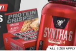 BSN Syntha-6 Coldstone+Protein Crisp bars (Box) -  <span> $44.99</span>