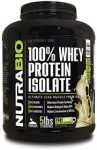 5LB Nutrabio 100% Whey Protein Isolate - <span>$60 </span> w/Coupon