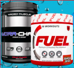 FUEL Pre Workout + Kaged Muscle Hydra-Charge - <span> $27.99</span>