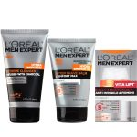 L'Oreal-  Expert Skin Regimen Set for Men-  <span> $18 Shipped!</span>