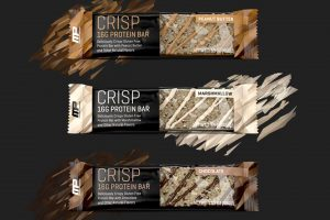 MusclePharm : Combat Crisp Protein Bars