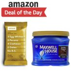 30% OFF Groceries at Amazon! <span> COFFEE, PROTEIN BARS & MORE</span> + Free Shipping