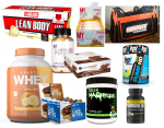 Huge Supplement Stack - <span> $99 Shipped </span>(Originally $300) + Gym Bag