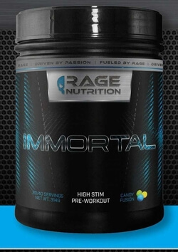 Rage Nutrition Immortal Review