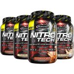 4 X 2LBS MUSCLETECH NITRO TECH WHEY - <span> $31.99</span> (compare to $100 on Amazon!)