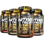 4 X 2LBS (8LB) MUSCLETECH Nitro-Tech Whey + Isolate Gold- <span> $43.99</span> [$112 on Amazon!]