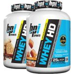 2 X 4.57LB -  BPI Whey HD <Span> $59.99 </span> [$29.99 per Tube]
