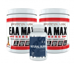 Primeval Labs EAA Max Energy 2 x 30s + Natural Burn Free -  <span> $31.99!!</span> Save $45