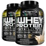 2 x 5lbs MuscleTech Lab Series 100% Whey +Isolate - <span> $39.99</span>