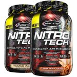 2 X 2LBS MUSCLETECH NITRO TECH WHEY - <span> $24.99</span>