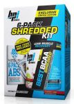 BPI Sports 6-Pack Shredded Kit + Free Shaker -  <span> $9.99EA </span>