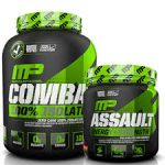 5lb MusclePharm Combat 100% Whey + Assault - <span> $57.99 </span>