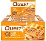 Quest Nutrition Maple Waffle Protein Bar (12 bars)- <span> $20.90 Shipped </span>