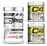 [$70 OFF!] Cellucor C4 - 2 X 60 servings + ISO PRO (2LB Isolate) - <span>$49.99!</span>