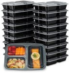 20/pk EZ Prepa Meal Containers   <span> $19.95 Shipped</span>