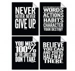 Lushleaf Designs Motivational Quote Workout - <span>4 for $9.99 Shipped</span>